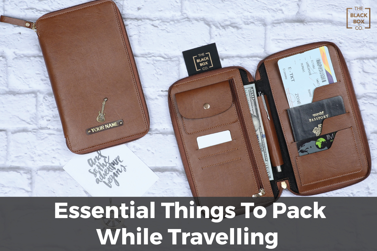 Travel Essentails For Men