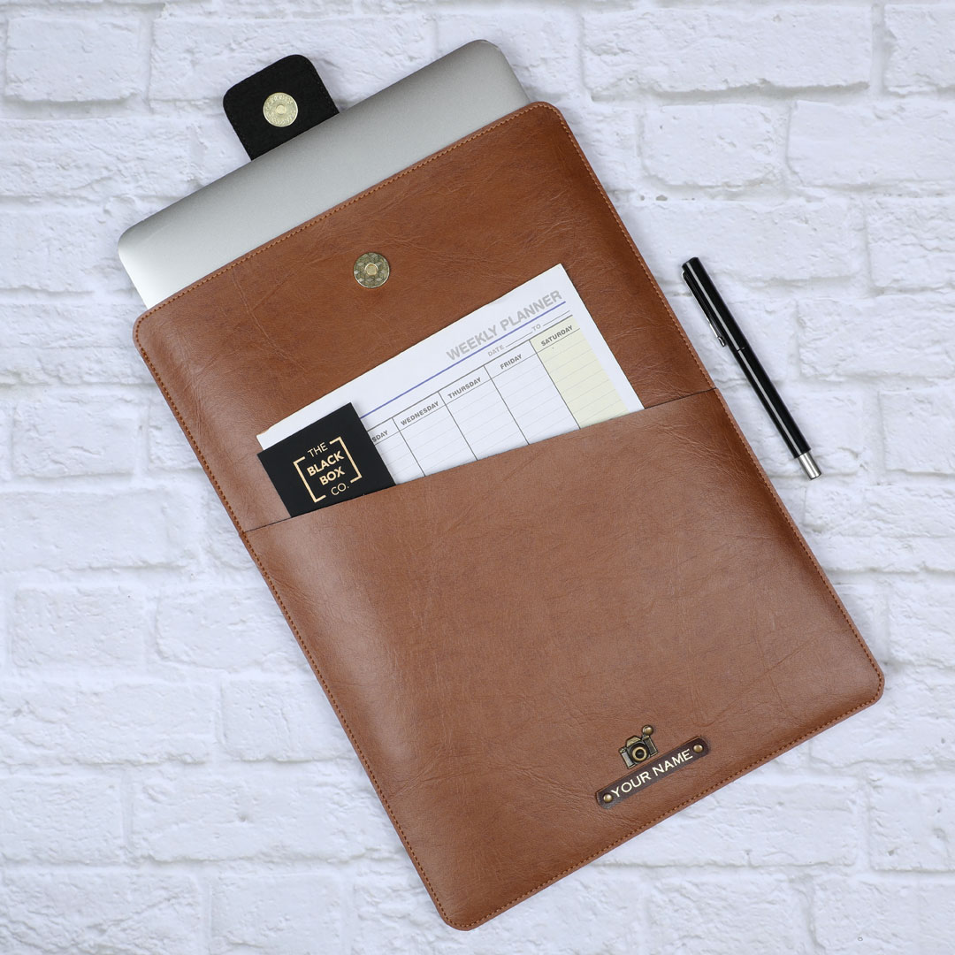 Personalised document sleeve